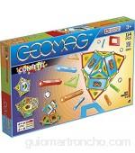 Geomag- Confetti Juego de construcción magnética Multicolor 114 Piezas (357)