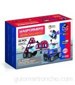 Magformers 717001 Amazing Police and Rescue Set Juguete de construcción magnético rojo azul negro gris color/modelo surtido