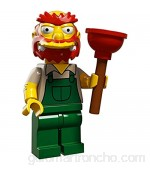 LEGO 71009 Simpsons Serie 2. Groundskeeper Willie