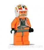LEGO JEK PORKINS (Rebel X-Wing Pilot) Figura de Star Wars