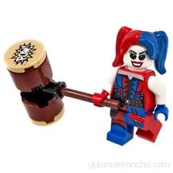 Nuevas Lego Harley Quinn DC superhéroes Superhéroe Batman Minifigura con Arma