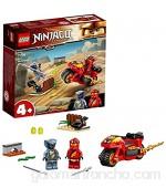 LEGO 71734 Ninjago Moto Acuchilladora de Kai Juguete de Construcción con Mini Figura de Ninja para Niños +4 Años