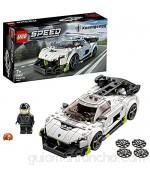 LEGO 76900 Speed Champions Koenigsegg Jesko Coche Deportivo de Juguete para Construir con Mini Figura de Piloto de Carreras