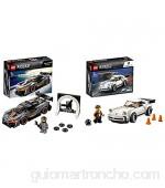 LEGO Speed Champion - 1974 Porsche 911 Turbo 3.0 Set de Contrucción del Clásico Deportivo + LEGO Speed Champions - McLaren Senna Speed Champions Juguete de Construcción