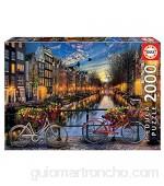 Educa - Ámsterdam paisajes y Lagos Puzzle 2000 Piezas Multicolor (17127)