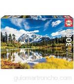 Educa - Monte Shuksan Washington EEUU Puzzle 3000 Piezas Multicolor (18011)