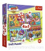 Puzzle Superzings para niños Super Zings 35-48-54-70 Piezas 25 5 x 20 5cm Puzzle Rivals of Kaboom Superthings