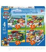 Ravensburger 4 Puzles Patrulla Canina en una Caja (12 16 20 24 Piezas)