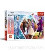 Trefl- Schwestern in Die Eiskönigin Disney Frozen 2 200 Teile für Kinder AB 7 Jahren Puzle Multicolor (13249)