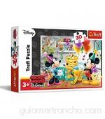 Trefl TRF18211 - Puzzle de Mickey y Minnie