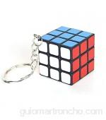 1pc Mini Cubo Llavero Cubo Colgante Niños Puzzle Puzzle Giro Regalo Juguetes 3 Cm