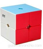 OJIN Qidi S 2x2 Cube 2 Capas 2x2x2 Cube Puzzle Cube Suave Giro Juguete de Cubo (Sin Etiqueta)