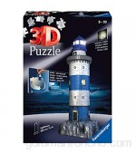 Ravensburger- Lighthouse at Night puzzle phare Color autre (125777)  color modelo surtido