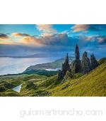 AFHK Rompecabezas 1000 Piezas de Rompecabezas de Madera Rompecabezas y Puzzles Accesorios de Rompecabezas DIY Rompecabezas para Adultos Juguete Skye Scottish Rock Juego de Madera Regalo Decoración d