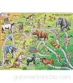 Larsen HL3 El Camino de los Simios a los Humanos edición en Polaco Puzzle de Marco con 83 Piezas