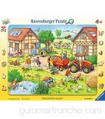 Ravensburger-Mi pequeña Granja Puzzle Color Amarillo (65820)