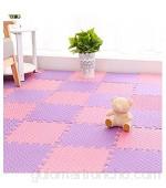 RUIRUIY Alfombra Puzle Puzzles Suelo Alfombrilla Rastrera Living Room Tatami EVA Alfombrilla De Piso Entrelazada 5 Colores 4 Tamaños (Color : B Size : 30X30X1.2CM-16PCS)