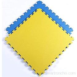 RUIRUIY Alfombra Puzle Puzzles Suelo Estera De Ejercicio De Protección for El Hogar Antideslizante Duradera con Enclavamiento De PE 4 Colores 3 Tamaños (Color : D Size : 80x80x2.5cm-6pcs)