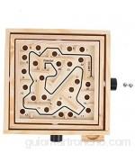 Juguete de laberinto de mano juegos de mesa interactivos juego de mesa de laberinto juego de cerebro juego interactivo para niños y adultos(ohye-hand maze trumpet)