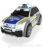 Dickie Toys 203714013 VW Tiguan R-Line - Coche de policía con luz y Sonido 25 cm a Partir de 3 años Multicolor