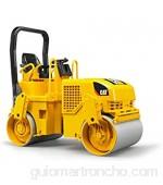 ROLLY TOYS Bruder 02433 Cat Caterpillar - Compactadora de Asfalto