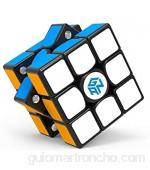 GAN 356X v2 3x3 Cubo Mágico Speed Puzzle de Gans Magnético Cube Juguete Rompecabezas (con Stickers)