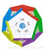 GAN Megaminx M Cubo Speed Puzzle de Gans Magnético Pentagonal (sin Stickers)