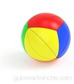 LINANNAN Bola de la Hoja de Arce Cubo mágico esférica 3-Pedido Maple Leaf Cubo niños de la Hoja de Arce de los Juguetes educativos