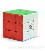 Lychee Dayan 5 ZhanChi 3x3x3 Cubo Velocidad 6-Color Stickerless