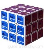 Magic Speed Cube Impresión UV Química para Adultos Herramienta De Aprendizaje De Adultos Pedido 3D Puzzle Magic Cube Regalo Juguetes Educativos para Niños Adultos Blanco
