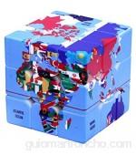 SXFHS Cubo De Velocidad Puzzle Cube Cube De Velocidad Mágica 3X3 El Juguete Más Educativo para Mejorar Efectivamente La Concentración del Niño para La Diversión Y La Resolución Velocidad