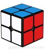 TOYESS Cubo Mágico Speed Cube 2x2 Rompecabezas Cubo de Velocidad Regalo de Adulto para Niños Negro