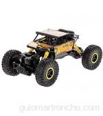 AIOJY Juguetes for niños RC Cars 1:18 2.4G 4WD Rock Crawler RC Buggy Car Control Remoto de Alta Velocidad Coche Off-Road Vehículo de Carga Regalo de Juguete for niños