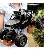 AIOJY Todo Terreno 2.4Ghz 4WD 1/10 RC Car Recargable Rock Crawler Monstruo de Control Remoto RC Buggy Racing Camiones Hobby for Niños Niñas RC Alta Velocidad Vehículo de Todo Terreno
