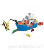Dickie Toys 203779001 Shark Attack-Barco de Rescate con luz y Sonido Multicolor Größe: 41 x 18 5 x 22 cm