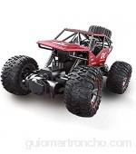 YYQIANG 01:18 grande de la aleación de trepar Monster coche de cuatro canales fuera de la carretera remoto del vehículo de juguete de control del coche modelo de coche de niño del coche de RC regalos