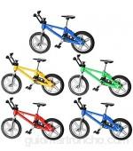 BESLIME Dedo Bikes BMX mini bicicleta juguete aleación dedo bicicleta montaña mini modelo adornos de bicicleta modelo bola Gadgets - 5 piezas