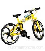 Jiayuane Modelo de Bicicleta de montaña 1 UNIDS Mini Bicicleta de Juguete 1:10 Modelo de Bicicleta de Montaña en Dedo Miniatura Adornos Niños Niños Niños