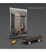 WT-YOGUET Dedo Skateboard de madera diapasón juguete profesional Stents Finger Skate Set