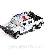 HKX Car Play Vehicles Toys Metal Pick-up Truck Coche de Juguete Niño Niño Aleación Coche de Juguete Resistente a caídas Simulación Sonido y luz Tire hacia atrás Vehículo Todoterreno Juguete