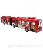 Wosune Coche de autobús de Juguete autobús de Juguete Suave de plástico de Forma Fresca de Poder Fuerte Juguetes Familiares para Adolescentes para niños